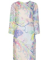 Vilagallo Class Shift Silk Pastel Paisley £149.00