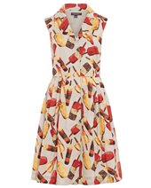 Emily and Fin Jessica Dress Ice Cream £69.00
