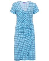 Ingenue Abi Dress Teardrop Turquoise £79.00