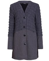 Peruzzi Ripple Cardigan Grey £115.00