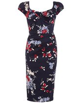 Stop Staring! NOVAD-03 Dress Blue Floral £195.00