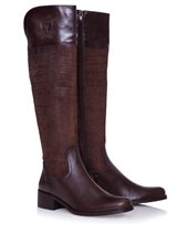Vitti Love Crust Marron Boot Brown £129.00