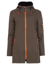 Ilse Jacobsen RAIN07B Raincoat Army Black £175.00