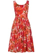 Emily and Fin Isobel Dress Red Poppy £72.00