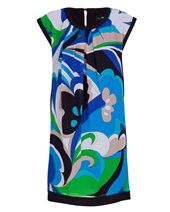 Nissa Graphic Print Dress Graphic Print £72.00 (was £179.00)