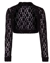 Ariana Lace Bolero Black £24.00 (was £59.00)