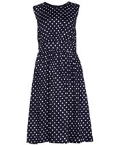 Emily and Fin Lucy Long Dress Navy& White £69.00