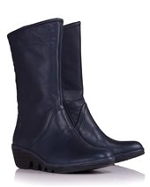 Fly London Pama Boots In Navy Navy £58.00 (was £115.00)
