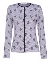 Rayure Merinos Jacket Top White £65.00